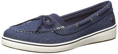 Grasshoppers Women's Augusta Denim Boat Shoe