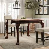 Coleman Extendable Solid Wood Dining Table Astoria Grand Color: Cherry