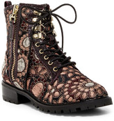 Alice + Olivia Tyrese Jacquard Boot