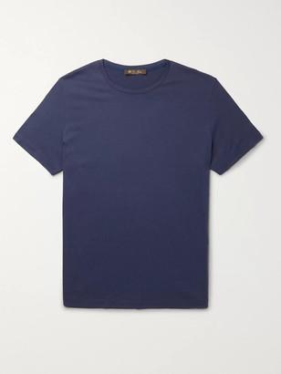 Loro Piana Silk And Cotton-Blend Jersey T-Shirt