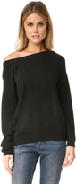 Vince Off Shoulder Cashmere Sweater