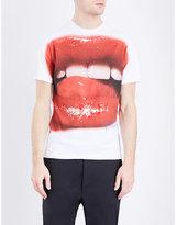 Vivienne Westwood Lip-print Cotton-jersey T-shirt