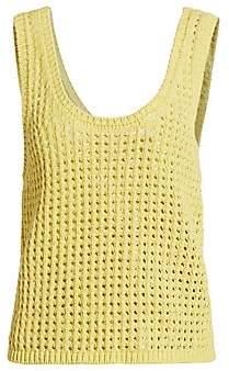Nanushka Women's Tula Crochet Knit Tank Top