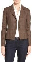 Classiques Entier Bouclé Check Wool Blend Jacket