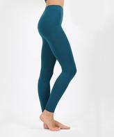 Eag EAG Women's Leggings Teal - Teal Classic Seamless Leggings - Women