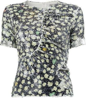 Preen by Thornton Bregazzi sequined T-shirt