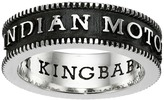 King Baby Studio Indian Motorcycle Logo Coin Edge Band Ring