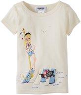 Sonia Rykiel Enfant Beach Tee (Toddler/Kid) - Off White-8