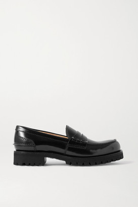 Church's Cameron Glossed-leather Loafers - Black