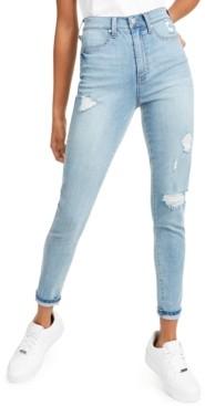 Celebrity Pink Ultra High Rise Destructed Skinny Jean