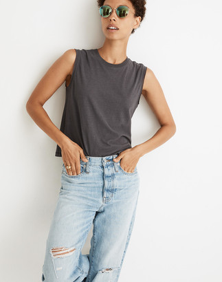 Madewell Raw-Edged Hangout Muscle Tank