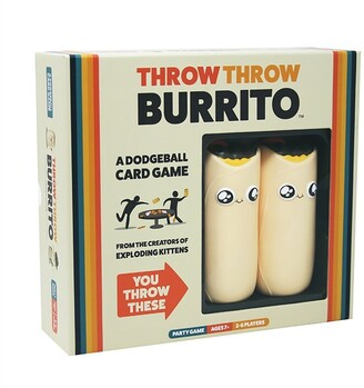 Exploding Kittens Throw Throw Burrito Dodgeball Card Game (Indigo Exclusive)