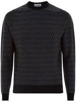 John Smedley Houndstooth Merino Wool Sweater