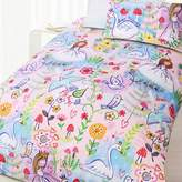 Happy Kids Swan Glow in the Dark Quilt Cover Set