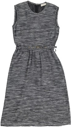 Leroy Veronique Grey Synthetic Dresses