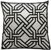 Kathy Ireland Home® by Gorham Chain Square Throw Pillow