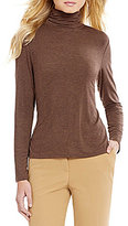 Investments Petite Essentials Turtleneck Long Sleeve Top