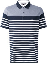 Michael Kors striped polo shirt - men - Cotton - S