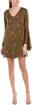 One By One Bell-Sleeve Shift Dress