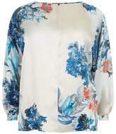 Marina Rinaldi Floral Print Top
