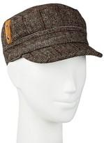 David & Young Women's Plaid Cadet Hat
