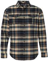 Burnside Yarn-Dyed Long Sleeve Flannel Shirt.B8210