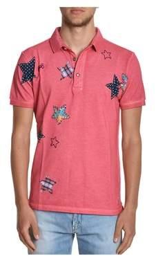 BOB Strollers Men's Red Cotton Polo Shirt.
