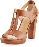 MICHAEL Michael Kors Berkley Leather Zip Sandal