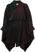 Issey Miyake blanket style cardi-coat