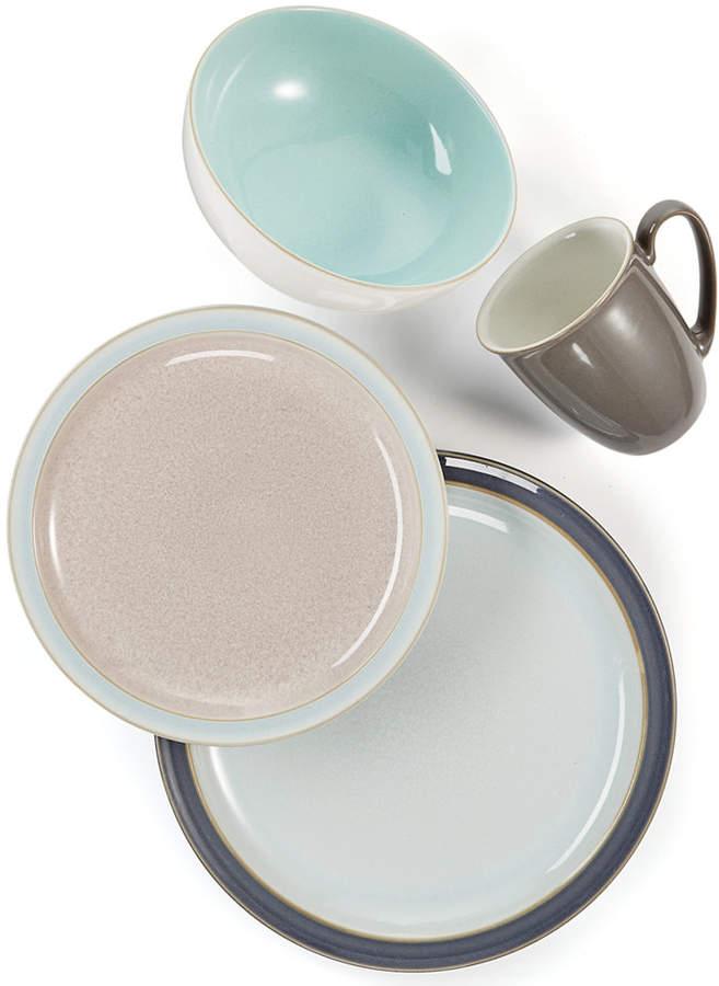 Denby 4-Pc. Truffle/Canvas Blend Dinnerware Set