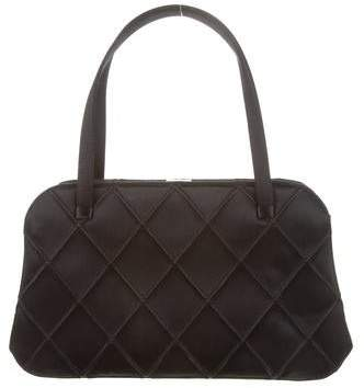 Chanel Quilted Satin Handle Bag