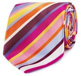 Thomas Nash Pink Striped Regular Tie