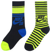 Nike Two-Pack Patter Crew Socks