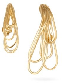 COMPLETEDWORKS Compulsory Miseducation 14kt Gold-vermeil Earrings - Yellow Gold
