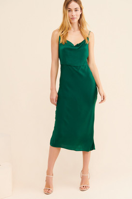 Greylin Cowl Neck Slip Dress