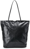 Latico Leathers Black Theresa Scalloped Tote