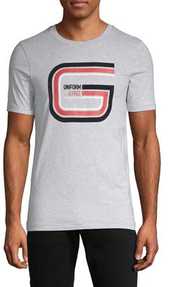 G Star Raw Logo Graphic Cotton Tee