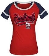 5th & Ocean Women's St. Louis Cardinals Homerun T-Shirt