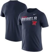 Nike Men's Navy Ole Miss Rebels Sideline Legend Performance T-Shirt
