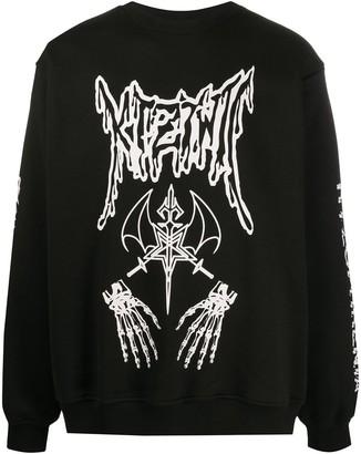 Kokon To Zai Dead Metal crew neck sweatshirt