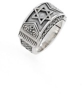 Konstantino Men's Heonos Star Of David Ring