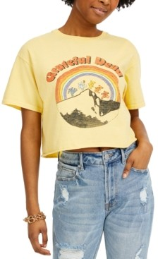 Junk Food Clothing Cotton Grateful Dead Graphic Cropped T-Shirt