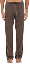 Zimmerli Men's Cotton-Blend Jersey Pants-DARK GREY