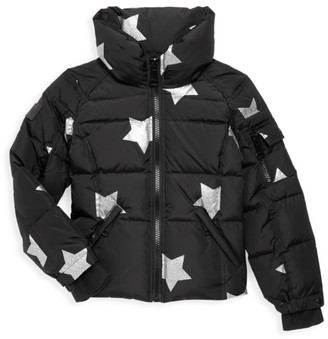 SAM. Little Girl's & Girl's Star Freestyle Quilted Down Jacket