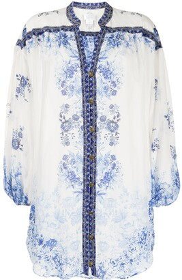 Camilla Floral-Print Tunic Dress