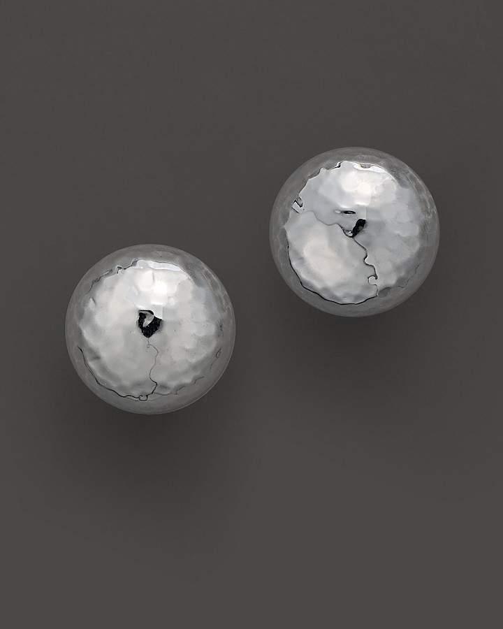 "Ippolita Sterling Silver ""Pinball"" Earrings"