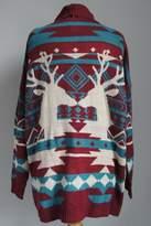 Ba Bel Aztec Deer Cardigan