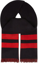 Givenchy Stripe & Stars Wool & Cashmere Scarf