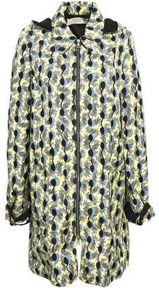 Marni Printed Twill Hooded Jacket