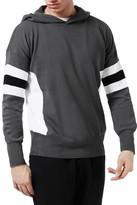 Topman Sport Stripe Hoodie